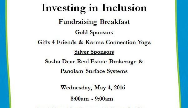 Community Living Huntsville slider Investing in Inclusion Fundraising Breakfast