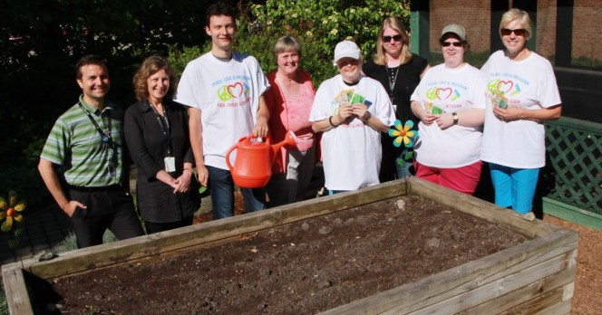 Community Living Huntsville slider Local gardeners give back to the Huntsville Hospital