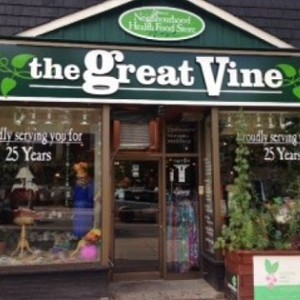 The Great Vine logo