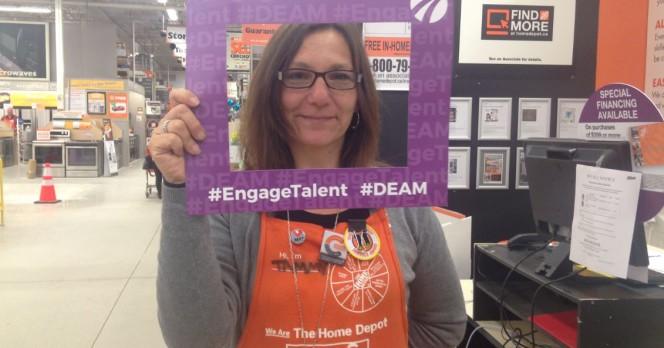 Community Living Huntsville slider Home Depot Huntsville recognizes #DEAM