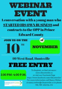 Invitation webinar a conversation about starting your own we hope to see you on friday stopboris Choice Image