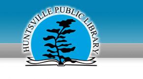 Huntsville Public Library logo