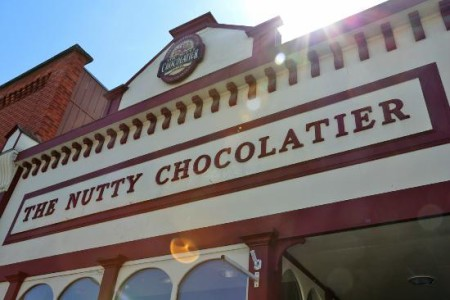 The Nutty Choclatier logo