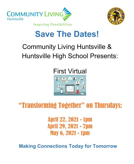 Save the Dates Transforming Together 2021